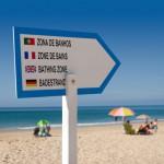 multilingual beach