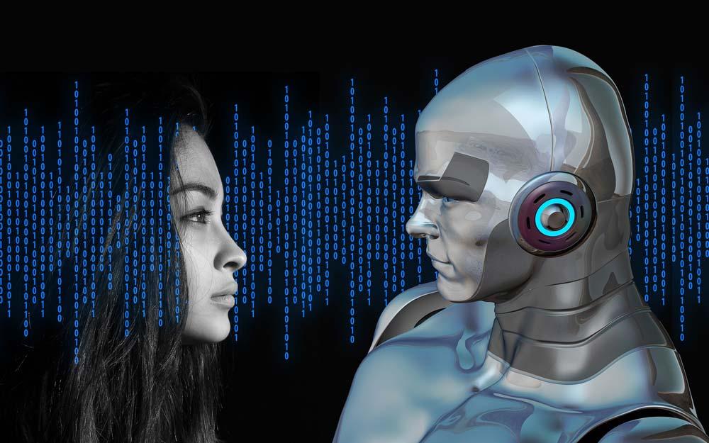 Human facing Robot
