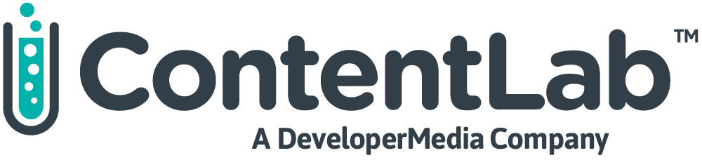 ContentLab IO, A Developer Media Company logo