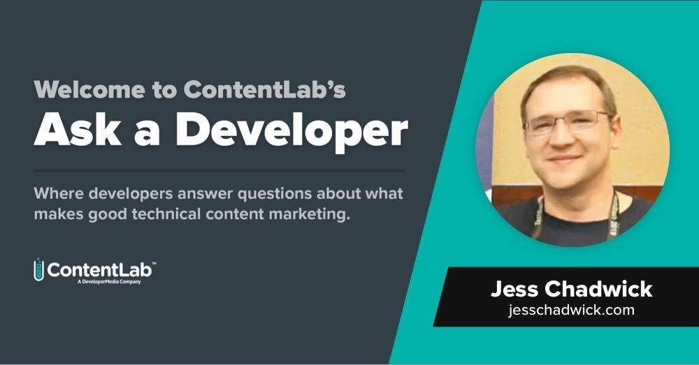 Ask a Developer - Jess Chadwick