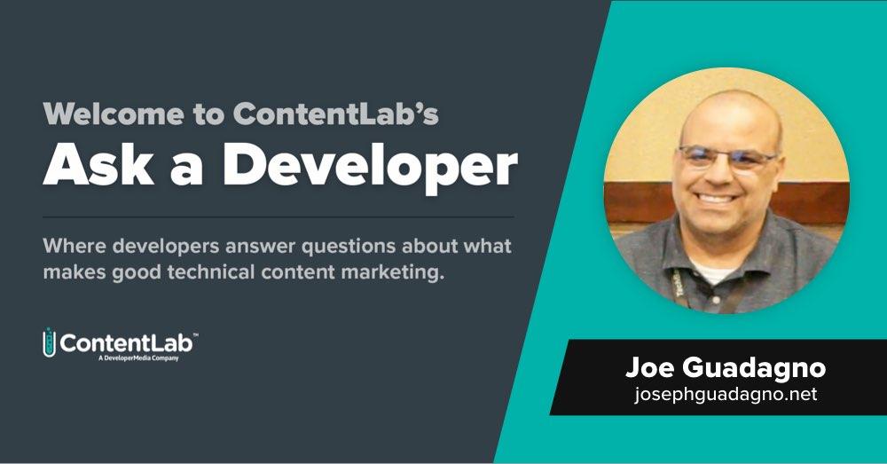 Ask a Developer - Joe Guadagno