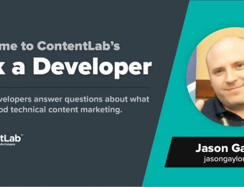 Ask a Developer: Jason Gaylord Starts with Documentation, Ends with Developer Community