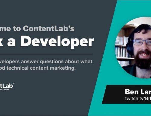 Ask a Developer: Ben Lannon and the Dawn of Multimedia Developer Content