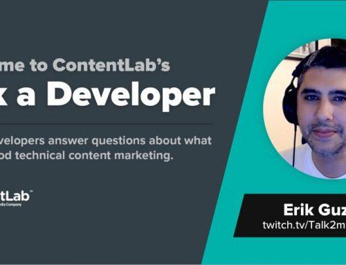 Ask a Developer: Erik Guzman Recommends Plain Language