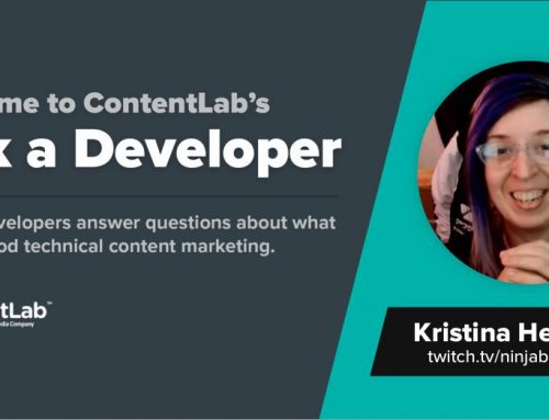Ask a Developer: Kristina Heishman Says Less Can Be More With Developer Content