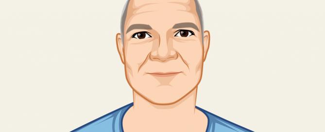 Profile Illustration of the developer Dave Auld