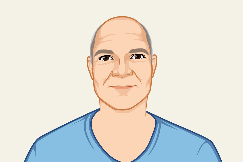Profile Illustration of the developer Dave Auld