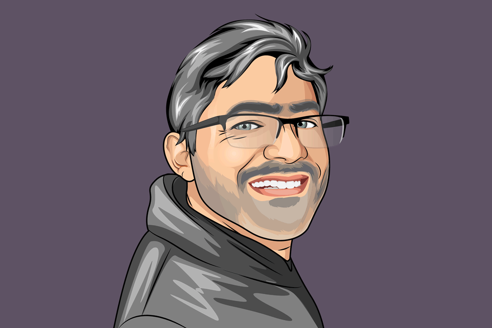 Developer William Springer profile illustration