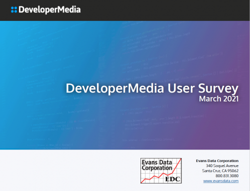 Check Out the 2021 DeveloperMedia Audience Profile by Evans Data Corporation